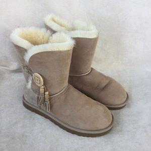 Ugg Bailey Boots With Charms NIB